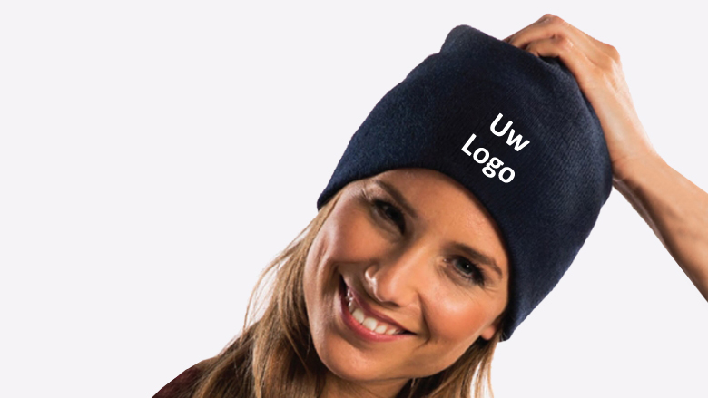 [:nl]Knitted promo hat[:]