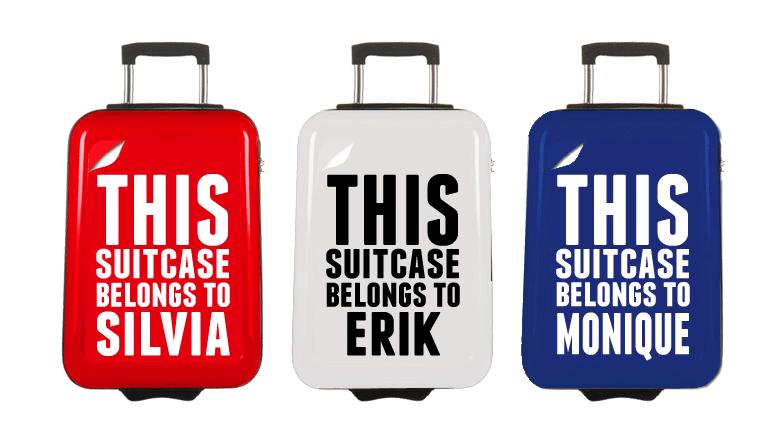 Persoonlijke koffer!