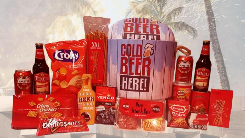 Cool Bier poefpakket voor de zomer