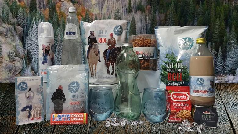 Waterpakket met luxe glazenset