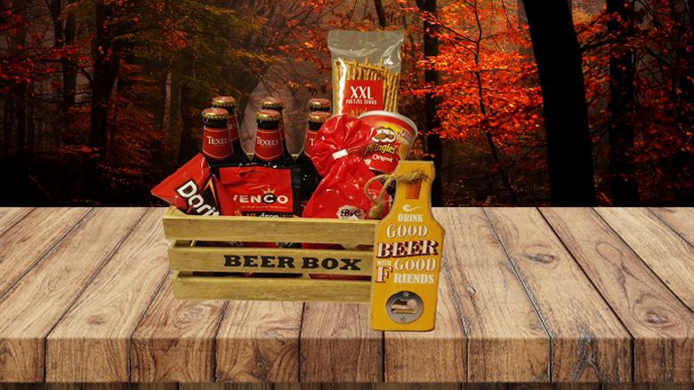 Houten bierbox