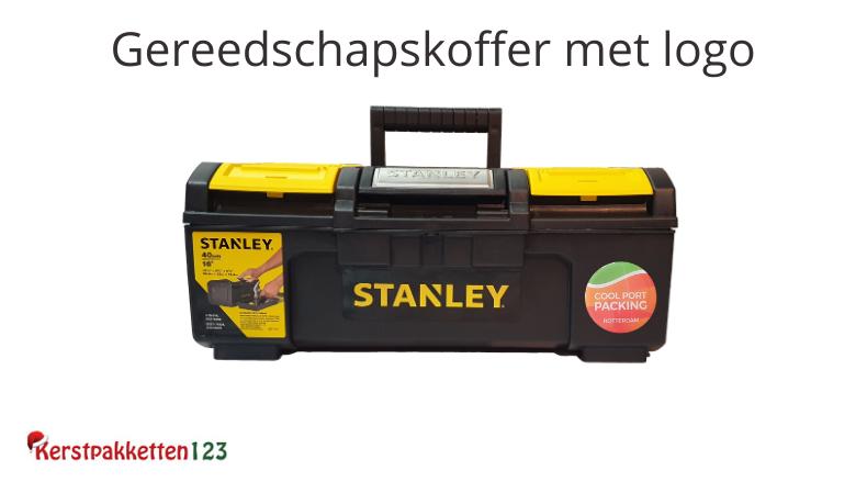 Gereedschapskoffer Stanley met opdruk