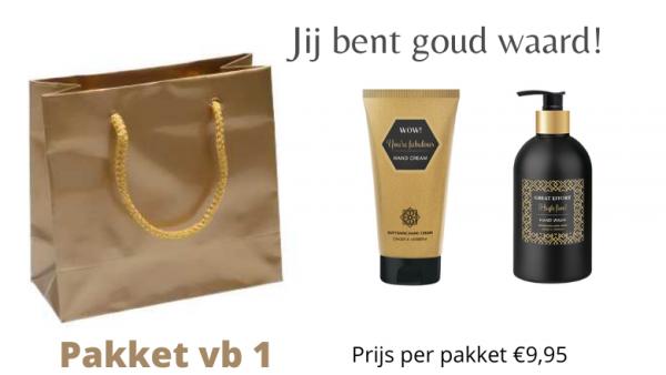 beauty pakket thuisbezorgd
