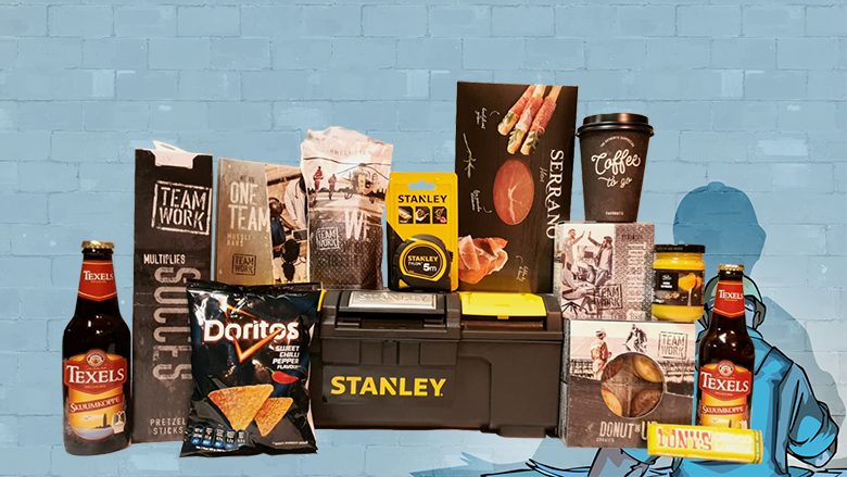 Kerstpakket Gereedschapskoffer Stanley