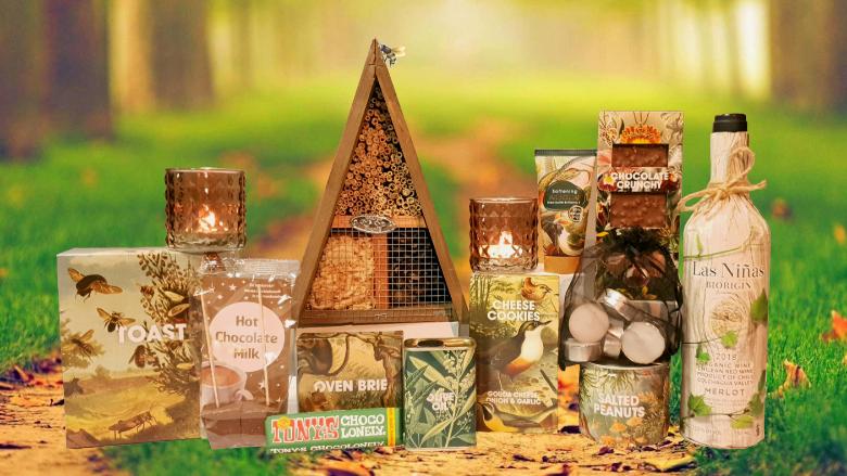 Art of Nature insectenhotel kerstpakket