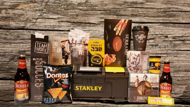 Kerstpakket Stanley gereedschapskoffer