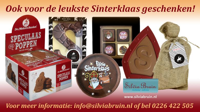 Sint geschenken van chocoladeletters tot speculaaspoppen