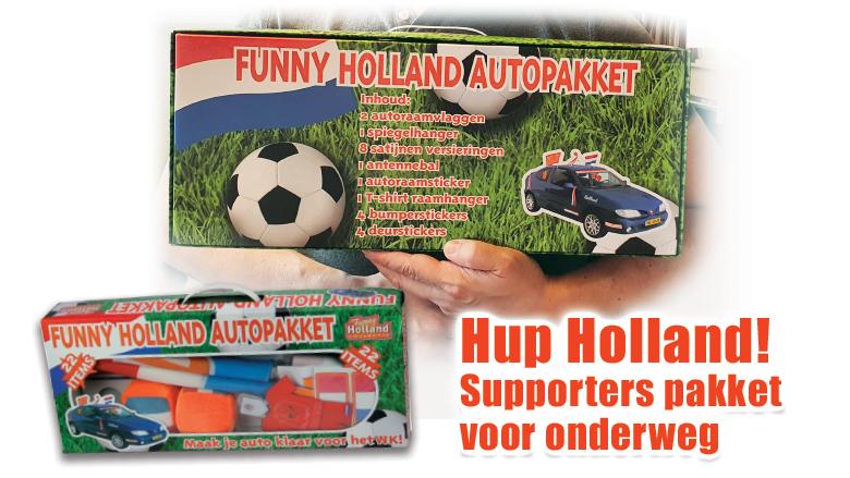 Funny Holland EK autopakket