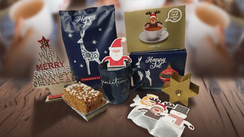 Kerstpakket high tea for 2