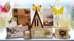 vrolijke vlindertuin kerstpakket