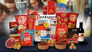 kerstpakket met Denksport puzzel magazien